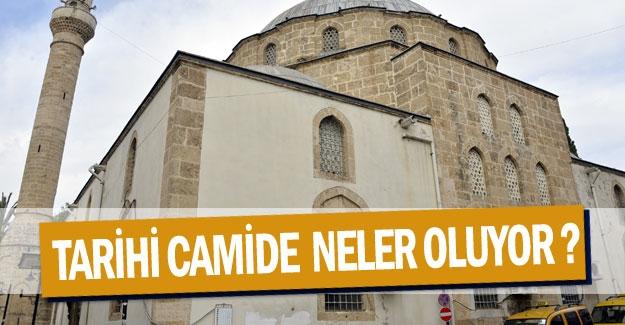 Tarihi camide  neler oluyor?
