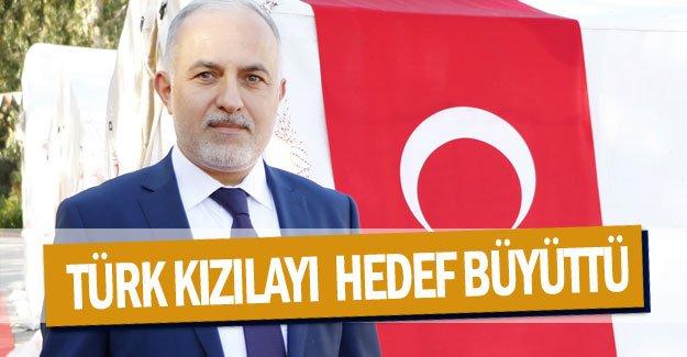 Türk Kızılayı  hedef büyüttü