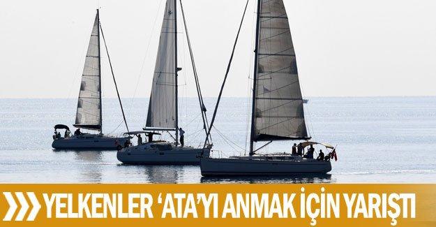 Yelkenler 'Ata'yı anmak için yarıştı