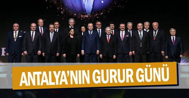 Antalya'nın gurur günü