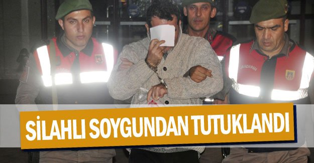 Çevre mühendisi, silahlı soygundan tutuklandı