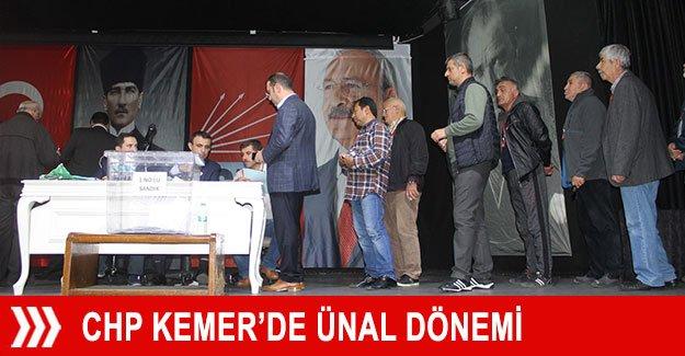 CHP Kemer'de Ünal dönemi
