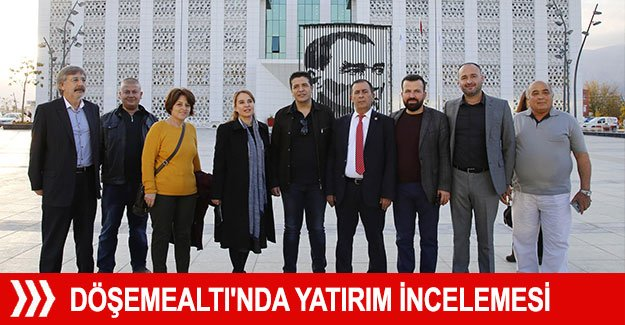 CHP'li Cankurtaran, Döşemealtı'nda yatırımları inceledi