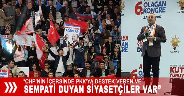 """""""CHP'nin içersinde PKK'ya destek veren ve sempati duyan siyasetçiler var"""""""