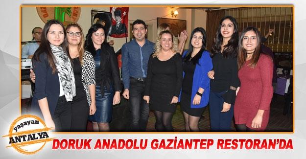 Doruk Anadolu Gaziantep Restoran'da