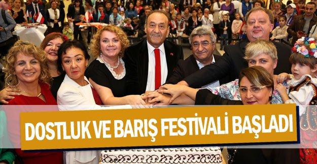 Dostluk ve Barış Festivali başladı