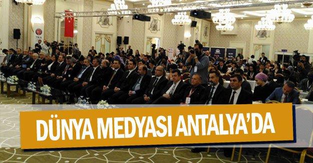 Dünya medyası ANTALYA'da