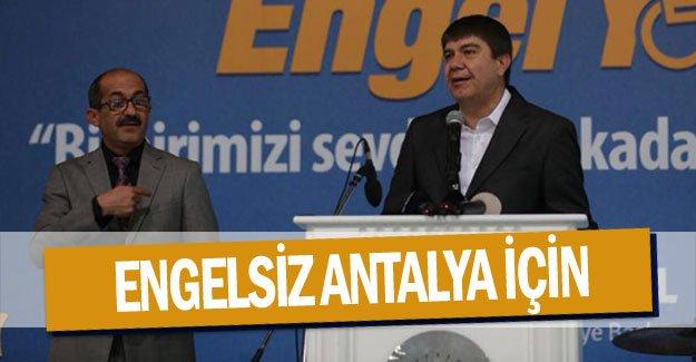 Engelsiz Antalya için