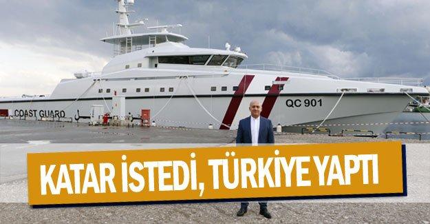 Katar istedi, Türkiye yaptı