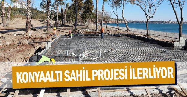 Konyaaltı Sahil Projesi ilerliyor