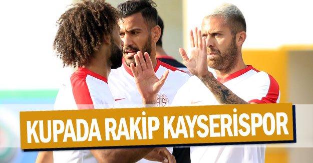 KUPADA RAKİP KAYSERİSPOR