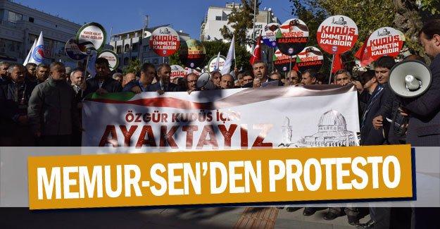 Memur-Sen'den protesto