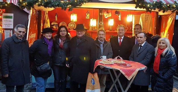 Nürnberg 'Noel Pazarı'nda stant