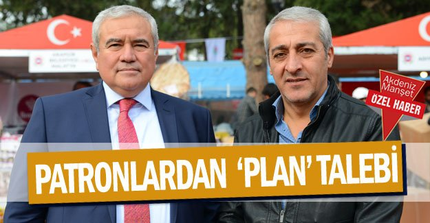 Patronlardan  'plan' talebi