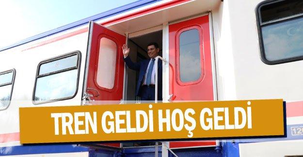Tren geldi hoş geldi