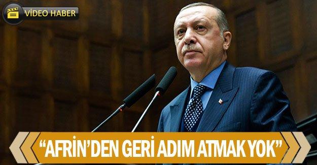 """""""Afrin'den geri adım atmak yok"""""""