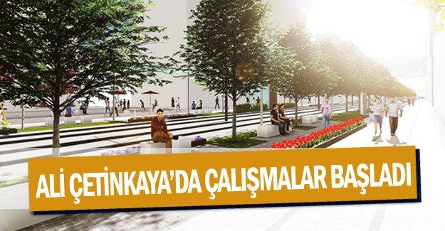 Ali Çetinkaya'da çalışmalar başladı