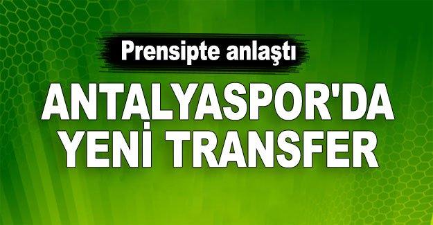 Antalyaspor'da yeni transfer...Prensipte anlaştı