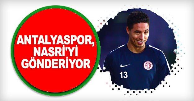 Antalyaspor, Nasri'yi gönderiyor