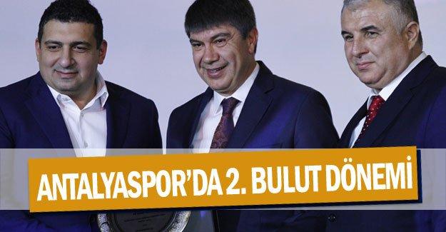 Antalyaspor'da 2. Bulut dönemi