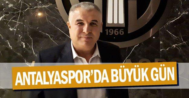 Antalyaspor'da BÜYÜK GÜN