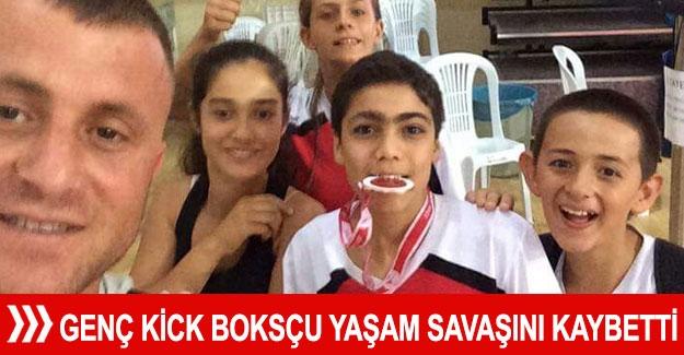 Genç Kick Boksçu yaşam savaşını kaybetti