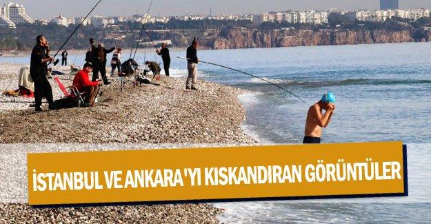 İstanbul ve Ankara'yı kıskandıran görüntüler