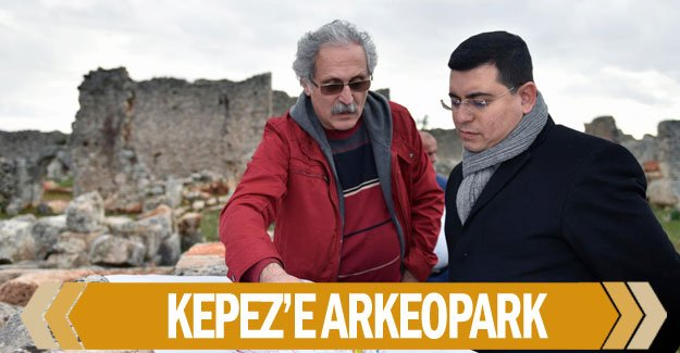Kepez'e arkeopark