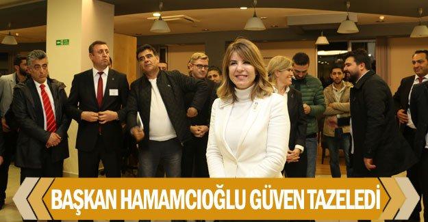 MMO'da Başkan Hamamcıoğlu güven tazeledi