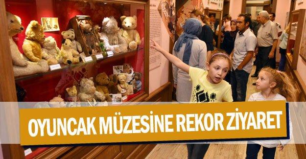 Oyuncak müzesine rekor ziyaret