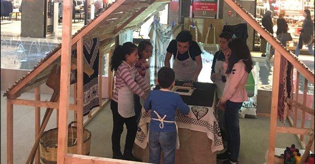 ÖzdilekPark'ta 'Eko Çocuk Köyü' etkinliği