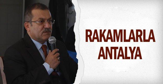 Rakamlarla Antalya
