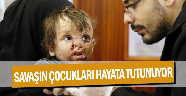 Savaşın çocukları hayata tutunuyor