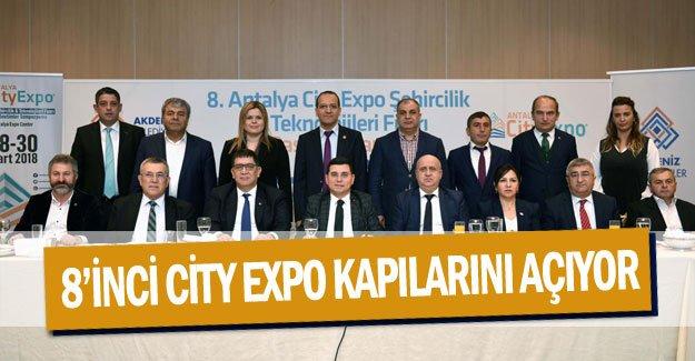 8'inci City Expo kapılarını açıyor