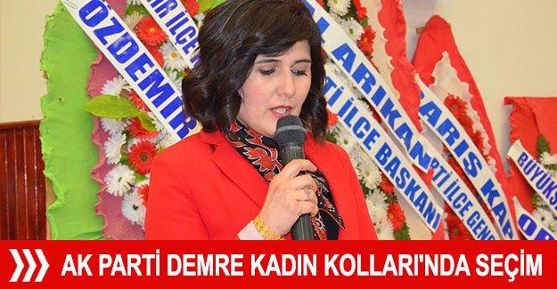 Ak Parti Demre Kadın Kolları'nda seçim