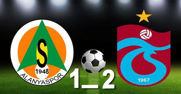 Aytemiz Alanyaspor: 1 - Trabzonspor: 2