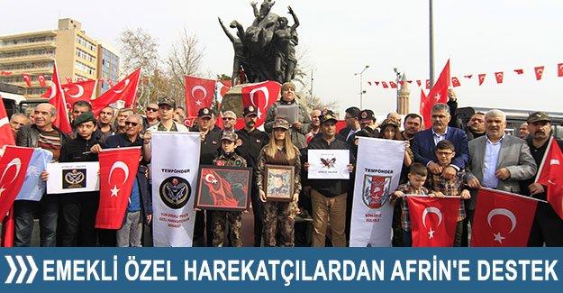 Emekli Özel Harekatçılardan Afrin'e destek