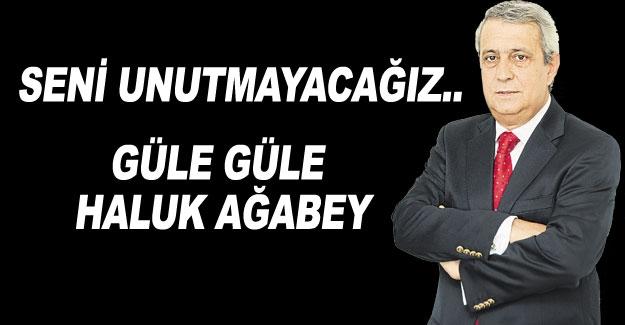 GÜLE GÜLE Haluk Ağabey