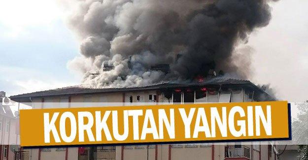 Korkutan yangın
