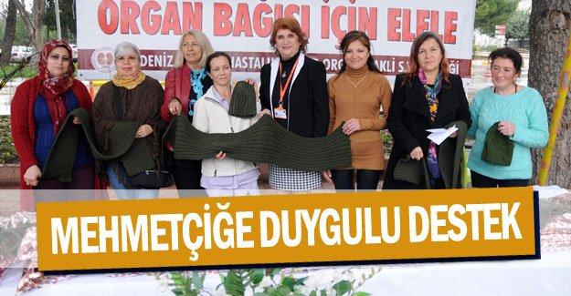 Mehmetçiğe duygulu destek