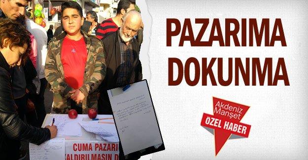 PAZARIMA DOKUNMA