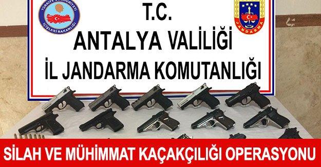 Silah ve mühimmat kaçakçılığı operasyonu