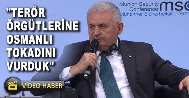 """""""Terör örgütlerine Osmanlı tokadını vurduk"""""""