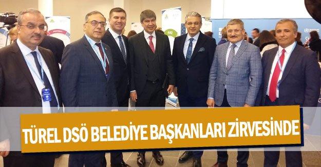 Türel DSÖ Belediye Başkanları zirvesine katıldı
