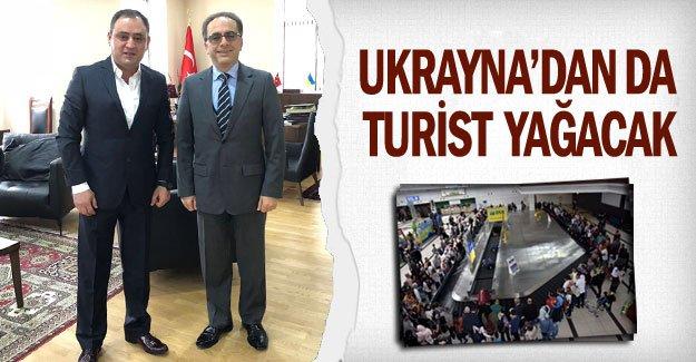 UKRAYNA'DAN DA TURİST YAĞACAK