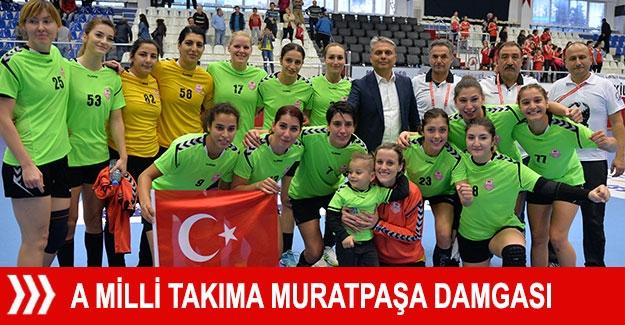 A Milli Takıma Muratpaşa damgası