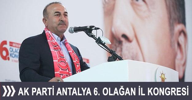 AK Parti Antalya 6. Olağan İl Kongresi