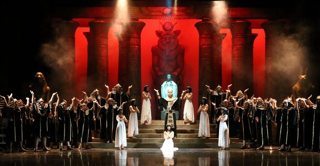Antalya DOB'dan  'Aida' Operası