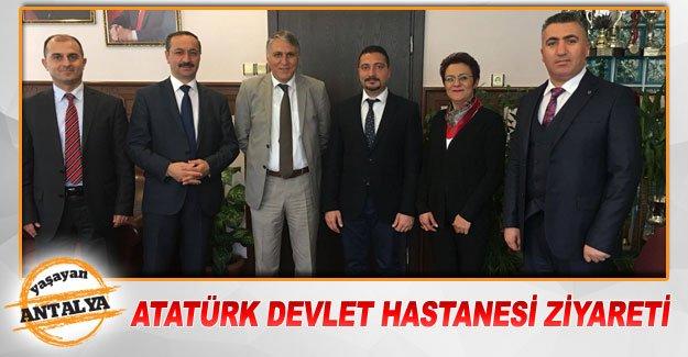 Atatürk Devlet Hastanesi ziyareti