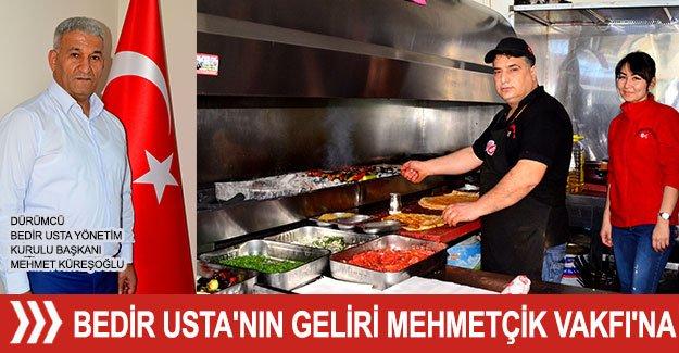 Bedir Usta'nın geliri Mehmetçik Vakfı'na